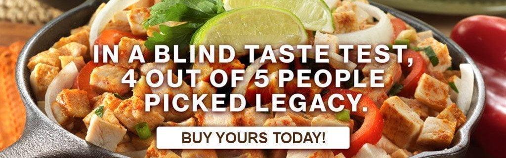 Legacy Banner - Blind Taste Test