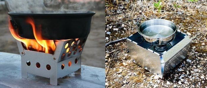 Camp Stoves and Cooking Fuel Banner