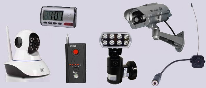 Security Cameras and Spy Gear